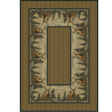 Deer Standing Proud Area Rug | United Weavers | UW532-41017