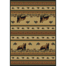 Bear Pine Creek Area Rug | United Weavers | UW533-11017