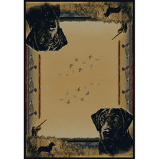 Duck and Dog Area Rug Duck Hunter | United Weavers | UW534-47017