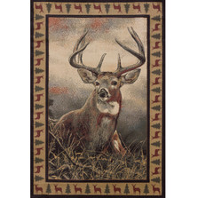 Majestic White Tail Deer Area Rug | United Weavers | UW535-49317