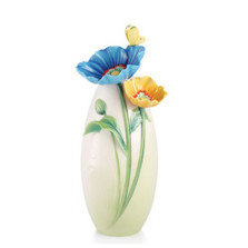 Brave New Hopes Poppy Vase | FZ03068 | Franz Porcelain Collection
