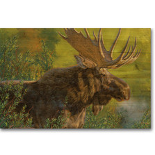 "Moose Wood Wall Art ""Crisp Fall Morning"" 