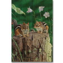 Chipmunks Wood Wall Art | Wood Graphixs | WGICHM2416