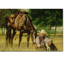 "Horse Wood Wall Art ""All I Need"" 