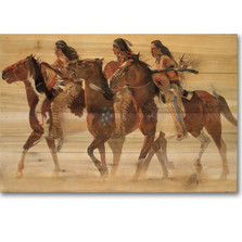 Horse Wood Wall Art 'Heartbeats & Hoofbeats"