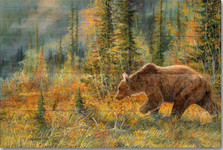 The Grizzly Walk Wood Wall Art | Wood Graphixs | WGITGW2416
