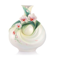 Moth Orchid Vase A Blithe Spirit | FZ03138 | Franz Porcelain Collection