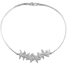 Starfish Sterling Silver Necklace | Kabana Jewelry | KP583 -2