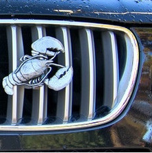 Lobster Grille Ornament |Grillie | GRIlobsterap -2