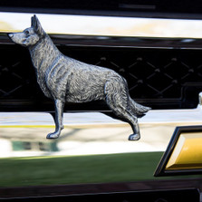 German Shepherd Grille Ornament |Grillie | GRIgshepap -2