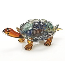 Turtle Art Glass Sculpture | Badash | BCRJ570