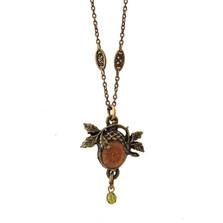 Acorn Pendant Necklace | La Contessa Jewelry | LCNK9252