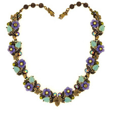 Flowers and Leaves Necklace | La Contessa Jewelry | LCNK9220