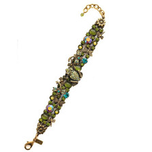 Frog and Dragonflies Bracelet | La Contessa Jewelry | LCBR9210