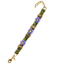 Frogs And Flowers Bracelet | La Contessa Jewelry | LCBR9211