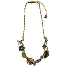 Frogs Asymmetrical Necklace | La Contessa Jewelry | LCNK9211