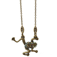 Frog Pendant Necklace | La Contessa Jewelry | LCNK9213