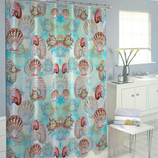 Multi Shells Shower Curtain | Betsy Drake | BDSH094