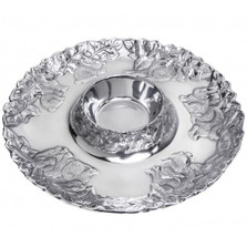 Bunny Rabbit Chip and Dip Tray | Arthur Court Designs | 103948