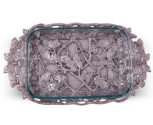 Butterfly 3 Quart Pyrex Casserole Holder | Arthur Court Designs | 101712