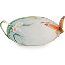 Butterfly Tray | xp1694 | Franz Porcelain Collection