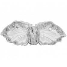 Elephant 2 Bowl Serving Tray | Arthur Court Designs | 104120