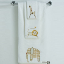 Animal Crackers Bath Towel Set | Creative Bath | CBTE1022BHW -2