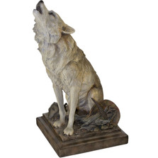 "Wolf Sculpture ""Call of the Wild"" 