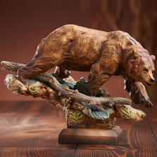 "Bear Sculpture ""Taking the Lead"" 