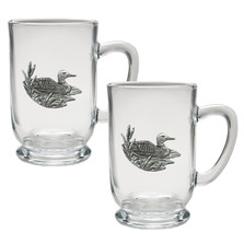 Loon Coffee Mug Set of 2 | Heritage Pewter | HPICM4074CL