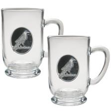 Raven Coffee Mug Set of 2 | Heritage Pewter | HPICM4277EBKCL