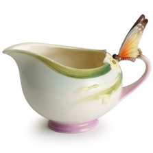 Butterfly Creamer | xp1947 | Franz Porcelain Collection -2