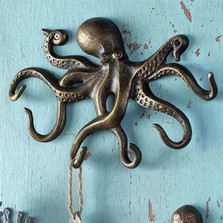 Swimming Octopus Key Hook | 34061 | SPI Home