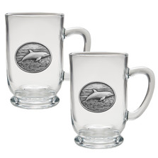 Dolphin Coffee Mug Set of 2 | Heritage Pewter | HPICM235CL