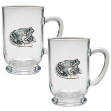 Frog Coffee Mug Set of 2 | Heritage Pewter | HPICM4114CL