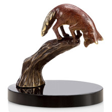 "Fox Sculpture ""Sly Stalker"" 