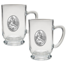 Mermaid Coffee Mug Set of 2 | Heritage Pewter | HPICM4272CL