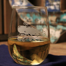 Whale White Wine Tumbler Set of 4 | Rolf Glass | 237336