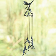 Stylized Dragonfly Wind Chime | 50477 | SPI Home