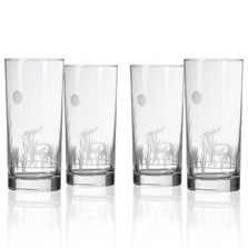 Deer Cooler Set of 4 | Rolf Glass | 218014
