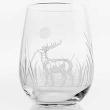 Deer Red Wine Tumbler Set of 4 | Rolf Glass | 218335