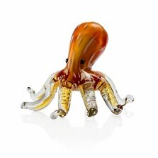 Octopus Brown Art Glass | 76088 | SPI Home