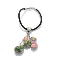 Shell Porcelain Bracelet | Franz Porcelain Jewelry | FJ00055