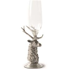Elk Pewter Stem Champagne Flute Set of 4 | Vagabond House | G1447T