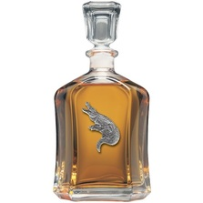 Alligator Decanter | Heritage Pewter | CPT3770