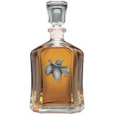 Pine Cone Decanter | Heritage Pewter | CPT3022