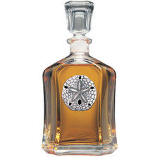 Sand Dollar Decanter | Heritage Pewter | CPT3300
