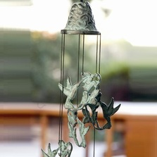 Hummingbird Wind Chime | BP15156 | SPI Home