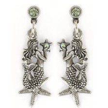 Mermaid Starfish Earrings | La Contessa Jewelry | Mary DeMarco | ER9342