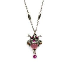 Bee Pendant Necklace | La Contessa Jewelry | Mary DeMarco | NK9302FC